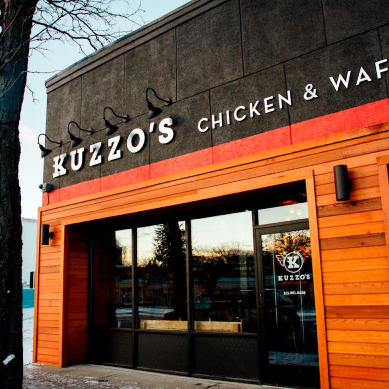 Kuzzos Chicken and Waffles