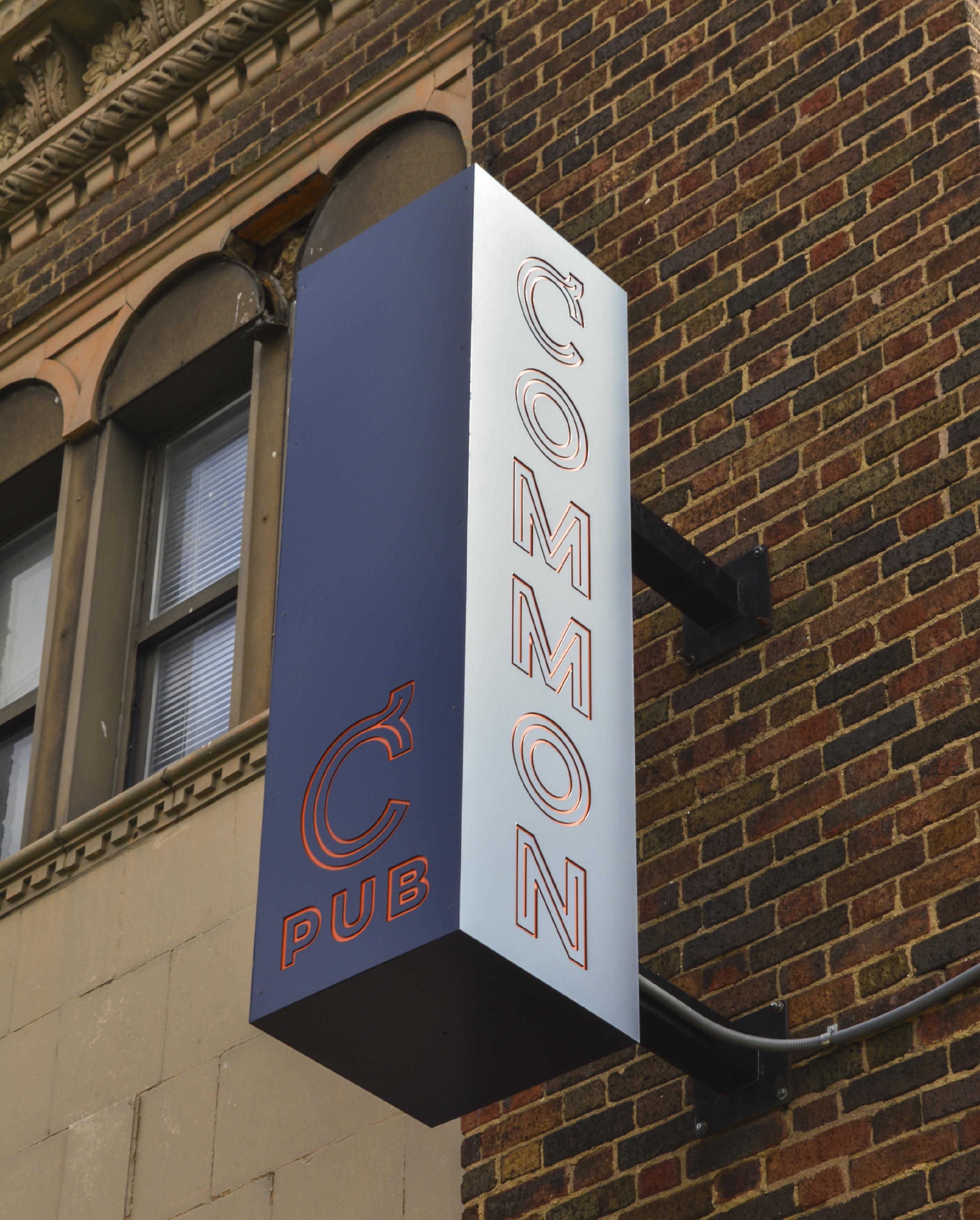 Common Pub Exterior Sign