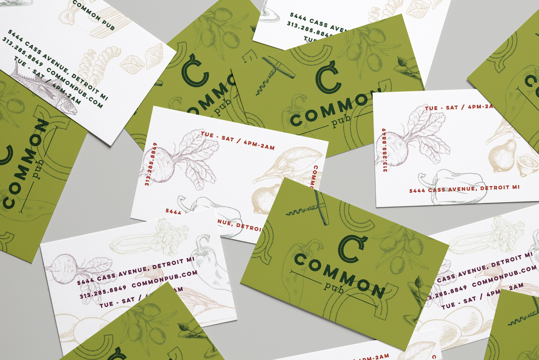 Common Pub Business Cards